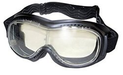 Safety Eyewear With Dual Lens Frame