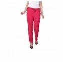 Pink Pink Cotton Slug Pant
