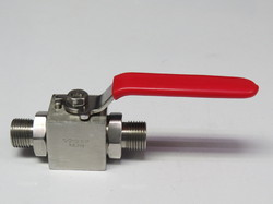 Male 2 Male Ball Valves