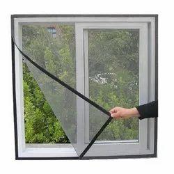 Fiberglass Retractable Collapse Velcro Mesh, for Window, Packaging Type: Roll