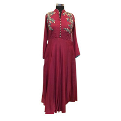 72b9f43450 Ethnic muslin Designer Ladies Gown