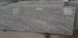 Polished Meera White Granites, For Flooring, Thickness: 15-20 mm