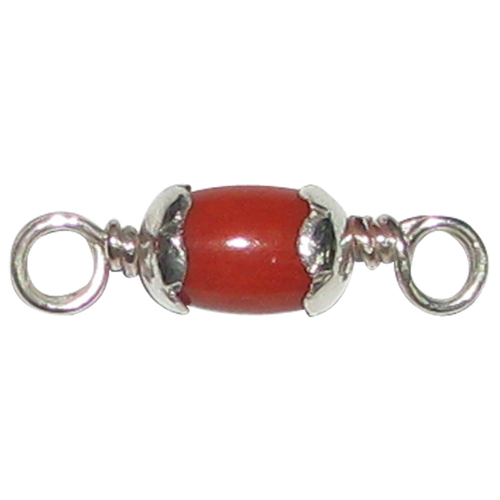jovon red venice pendant coral blood fo silver necklace in en