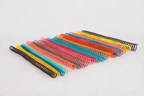 Binding Spirals - Classik Black Plastic Binding Spiral Ring (8 mm