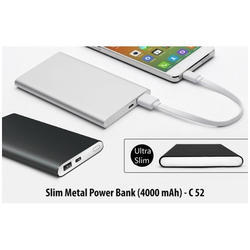 Slim Metal Power Bank