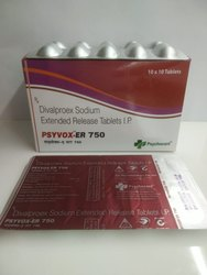 Divalproex Sodium 750mg Tablets(Psyvox ER 750)