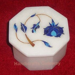 Makrana Marble Inlay Box