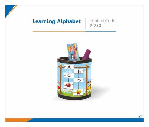 Learning Alphabet Pen Stand