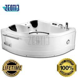 Evelina Corner Jacuzzi Massage Bathtub