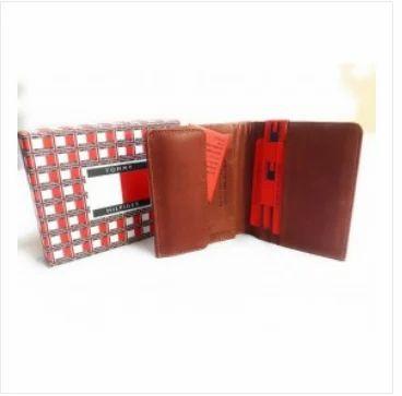 68ed6c12a38 LV-8 Tommy Hilfiger Redwood Colored Men Leather Wallet at Rs 599 ...