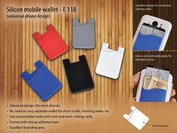 Silicon Mobile Wallet With Card Holder