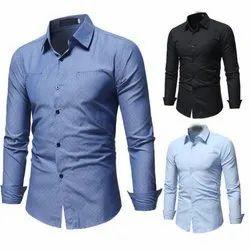 Full Sleeves Mens Regular Fit Shirt