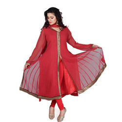 Front Slited Anarkali Suits