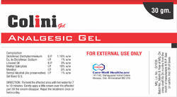 Analgesic Gel