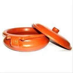 Brown Rabitha Clay Urli Pot, Capacity: 500-1000 Ml