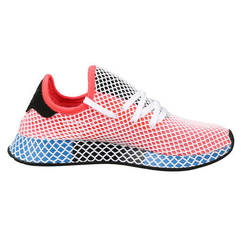 buy online f21ed 3c931 Solar Red Adidas Deerupt, Size 10 and 9
