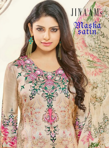 89a655de4c Jinaam Maska Satin Casual Indian Salwar Suits at Rs 1310 /piece ...