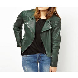 Ladies Fancy Leather Jacket