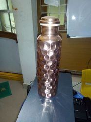 Handed Copper Bottle