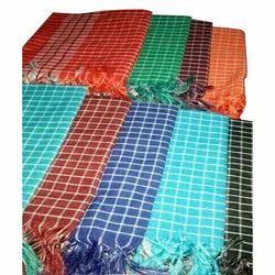 Check Handloom Cotton Gamcha