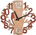 Craft Wooden Analog Wall Clock For Promotional Gift