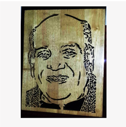 Public Figure Wooden Carving PF20