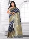 Blue Pure Silk Sarees