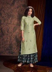 Pr Fashion Launched  Readymade Pair Of Kurti and Palazzo