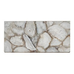 Natural White Vitrified Floor Stone Tile