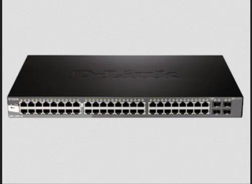 D-Link Black DGS-1500-52 48 10/100/1000Base-T Ports Plus 4 SFP Ports
