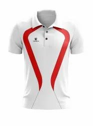 White Cricket T Shirt