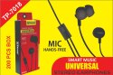 Troops Tp-7018 Universal Stereo Earphone