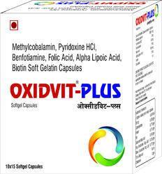 Methylcobalamin Pyridoxine HCI Capsules Benfotiamine Folic Acid Alpha Lipoic Acid Biotin