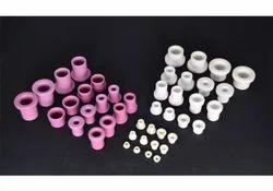 Pink/white/black Ceramic Eyelet (Alumina)