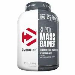 Dymatize Super Mass Gainer, Packaging Size: 6 lbs, Packaging Type: Bottle