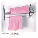 Ss Wall Mounted Towel Shelf