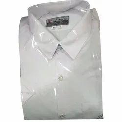 Summer PC White School Uniform Shirt, Size: 22 to 42