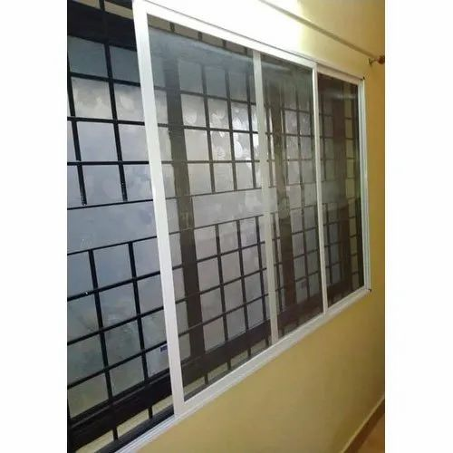Sliding Window Mosquito Net, Size: 3x4,4x4 Feet, Packaging Type: Roll