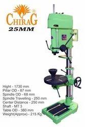 Chirag Sm25mm Heavy Duty Drill Machine, Drilling Capacity (steel): 25mm