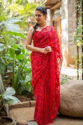 TRENDY NET Saree