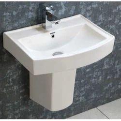 Zara Half Pesdestal Wash Basin