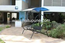 Home Swing 3 Seater With Polycarbonate Roof
