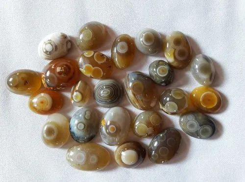Natural Agate Eye Stone