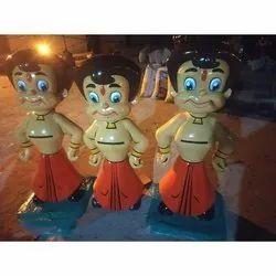 3D Chhota Bheem Figure