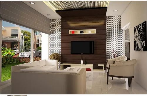 Abad Living Room Interior Design Service In Ahmedabad H K Solutions Private Limited Id 21075678533