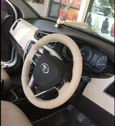 Leather Car Steering Cover