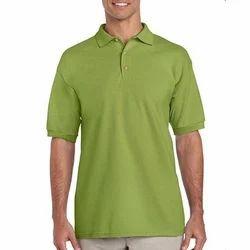Men Plain Polo T-Shirts