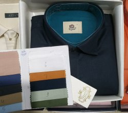 Men Kento Plain Shirts - 1406