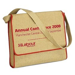 Jute & Canvas Bag