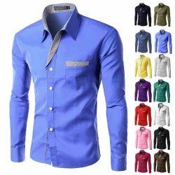 Small Mens Stylish Full Sleeves Shirt